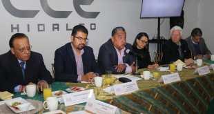 Edgar Espínola presenta la mesa directiva del CCEH para 2020
