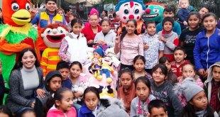 Festejaron a Mareli, una niña con cáncer terminal que anhelaba tener una fiesta de cumpleaños.