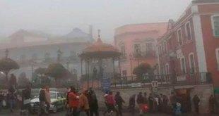 temperaturas mínimas 0 a 5° Hidalgo semana