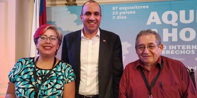 Diputados morenistas de Hidalgo viajaron de comisión a Chile