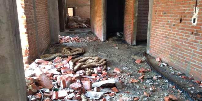 Por incendio en bodega con químicos, evacuan familias en Actopan