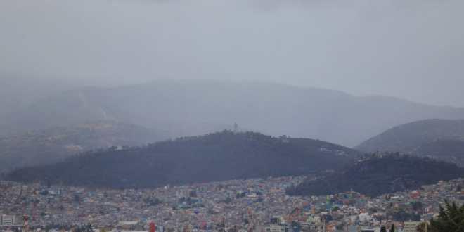 Este jueves se prevén lluvias vespertinas en Hidalgo