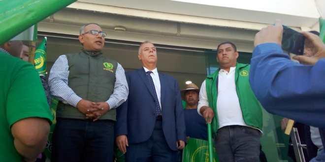Se manifiesta la UNTA en la CDHEH por liberación de presuntos asaltantes