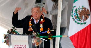 López Obrador visitó Tenango