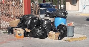 Multarán con $5 mil, por basura en las calles en Ixmiquilpan