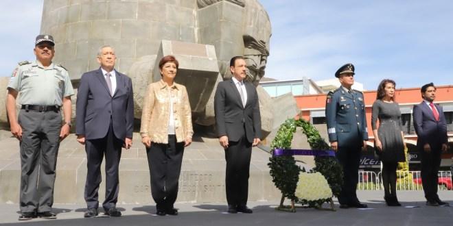 Durante festejo por erección de Hidalgo, insta Fayad a redoblar esfuerzos