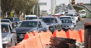 Construcción de puente atirantado afecta a tres rutas alimentadoras
