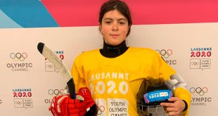 Gana mexicana medalla de oro en hockey sobre hielo