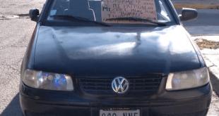 Encuentran automóvil con rastros de sangre en Tizayuca