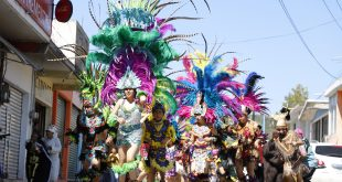 Continúa la fiesta del carnaval en municipios de Hidalgo