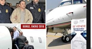 Lujos, criminales... y a remate: el avión que compró Murillo Karam