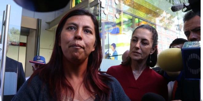 Pide mamá de Fátima justicia a Claudia Sheinbaum