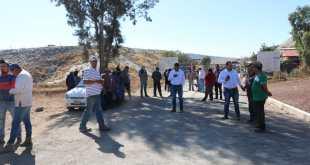 Por falta de contrato con alcaldía, ejidatarios cierran tiradero de El Huixmí