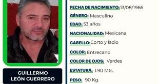 Guillermo León Guerrero desapareció en Pachuca ¿Lo has visto?