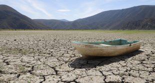 Laguna de Metztitlán se ha convertido en un desierto