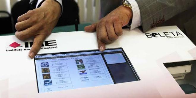 Estiman 30 mil votantes por cada urna electrónica en Hidalgo