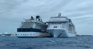 Llega crucero rechazado por posible coronavirus a Cozumel