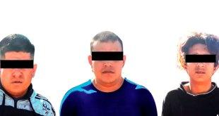 Detienen a tres por portar pistola en Atotonilco de Tula