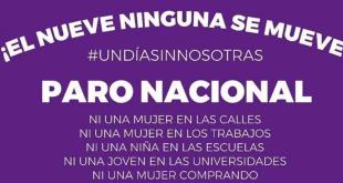 Convocan a un paro nacional de mujeres para el 9 de marzo