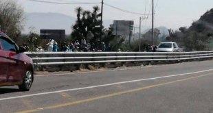 Vecinos vuelven a bloquear la carretera México-Laredo