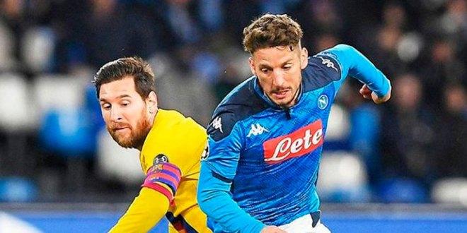 Rescata Barcelona empate ante Napoli en Champions
