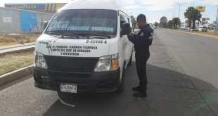 Descartan reducción de vigilancia al transporte en Tizayuca
