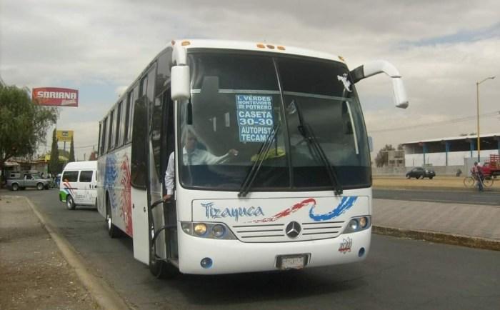 Pega delincuencia a transportistas que usan rutas en la región Tizayuca