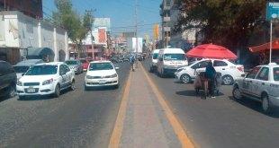Protestan transportistas en Tizayuca; exigen cancelar Utiz