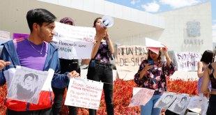 Colocan tendedero vs acoso en Ciudad del Conocimiento