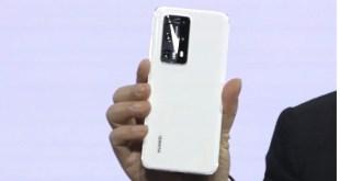 Revela Huawei tres smartphones P40 a través de transmisión