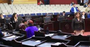 Por falta de cuórum, sesión de Congreso estatal comienza tarde