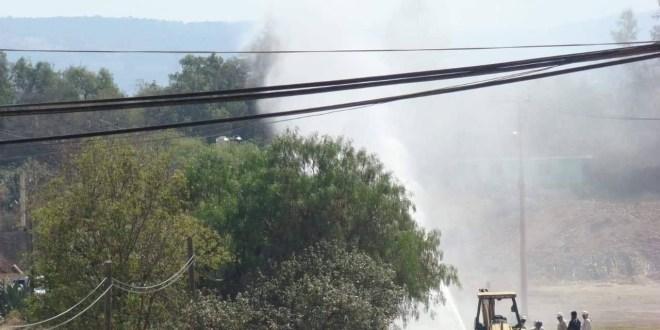Provoca personal de Pemex fuga de hidrocarburo en Cuautepec