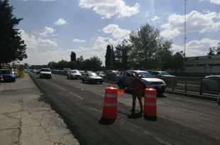 Desviarán tránsito en el Felipe Ángeles por obras de distribuidor vial