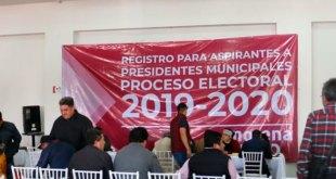 Hasta las 15:30, se han inscrito 350 aspirantes a una candidatura por Morena
