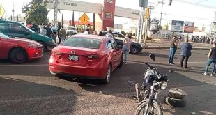 Bloquean la carretera México-Pachuca para exigir agua potable en Tizayuca