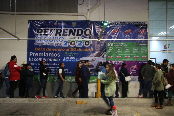Costos y programas para pagar el refrendo 2021 en Hidalgo