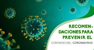 Medidas que hay que tomar en cuenta ante el Coronavirus