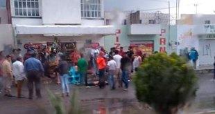 Por intento de robo, retienen y golpean a delincuentes en Tizayuca