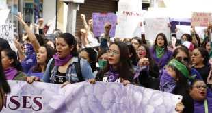marcha feminista/Pachuca