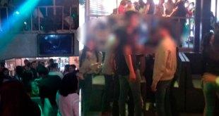 Clausuran bar lleno de jóvenes en Tula por no atender medidas vs coronavirus