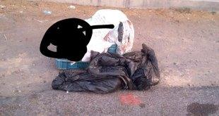 Localizan cadáver al interior de bolsas de plástico, en Tasquillo