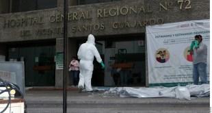 Son médicos 9 por ciento de contagiados por la Covid-19 en México