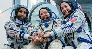 Astronautas vuelven a la Tierra y se encuentran con la pandemia