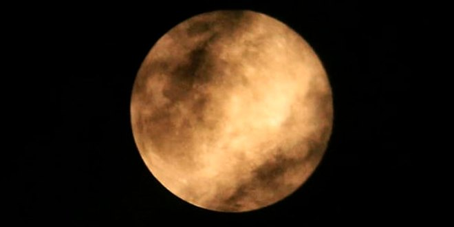 Fotos que nos enviaron nuestros seguidores de la Superluna Rosa