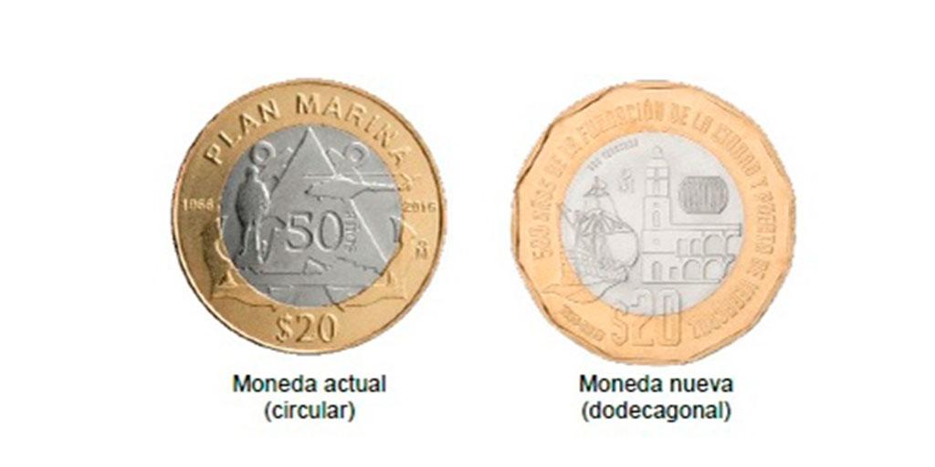 Mucho Ojo Asi Son Las Nuevas Monedas De 20 Pesos
