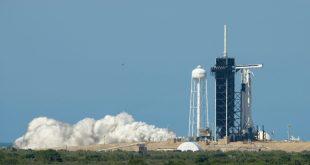 No te pierdas hoy el lanzamiento del primer vuelo tripulado de SpaceX al espacio
