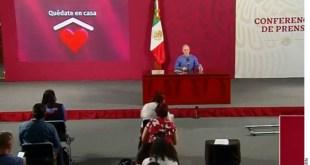 Registran 5,045 muertes y 47,144 contagiados por Covid-19 en México