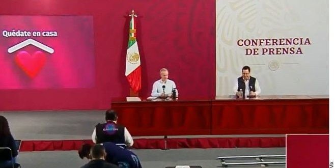 Supera México las 7 mil muertes y 65 mil casos por Covid-19