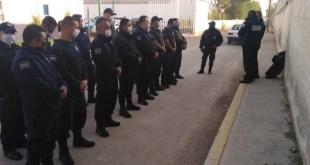 Pese a ser grupos de riesgo, SSP Tizayuca rechaza descansar agentes