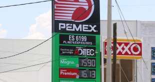 Gasolina regular ha subido 58 centavos en la última semana; 15.80 este lunes